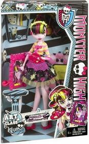 Mattel Monster High Upiorna sztuka Draculaura BDF12