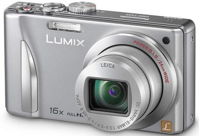 Panasonic Lumix DMC-TZ25 3D srebrny