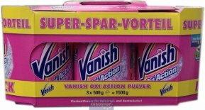 Vanish Oxi Action odplamiacz 3 pak