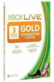 Microsoft Xbox Live Gold 3 mc 52K-00270