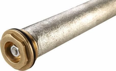 GALMET wymiennik magnezowa O25x390 z korkiem 5/4 mosiężnym 40-262300