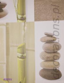 Rasch Tapeta ścienna bambus kamienie spa AQUA RELIEF 2014 825701