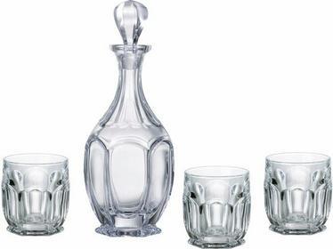 Bohemia Zestaw do whisky Safari - Szklanki + karafka Crystalite