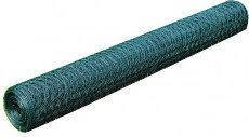 Siatka ogrodzeniowa Metal + PCV, rolka 1m x 25m.