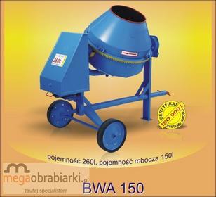 AGRO-WIKT Betoniarka wolnospadowa BWA 150