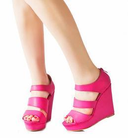 Różowe sandały Casilda różowy