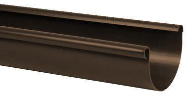 Kaczmarek Rynna PVC 125 x 4000 brązowa