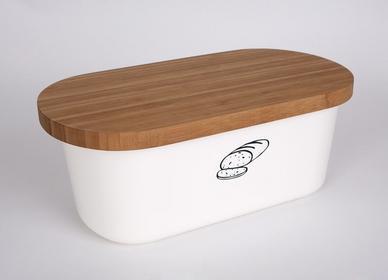 Kesper Pojemnik na chleb - biały 7142