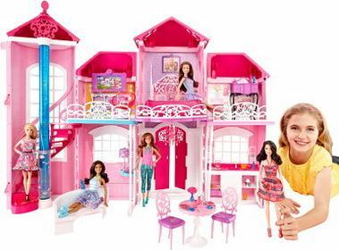 Mattel Barbie Dom marzeń BJP34