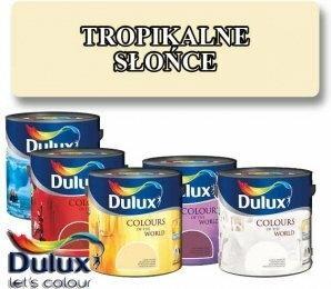 Dulux Kolory Świata TROPIKALNE SŁOŃCE 5L HAN09015