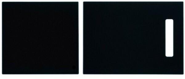Schock Deska kuchenna 629064+629075 szkło czarne