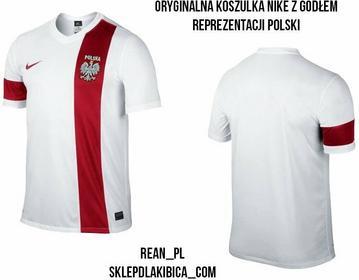 Nike T-shirt STRIKER III Z GODŁEM REPREZENTACJI POLSKI