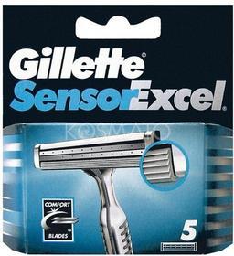 Gillette Sensor Excel, 5 szt