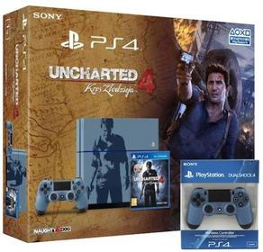 Sony  Playstation 4 1TB Uncharted Special Edition + 2 x DualShock 4