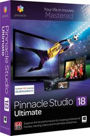 Pinnacle Studio 18 Ultimate PL - Nowa licencja EDU