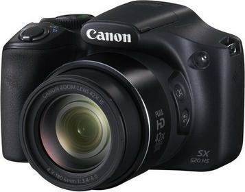 Canon PowerShot SX520 HS czarny
