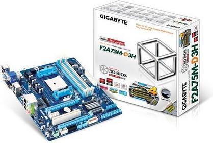 Gigabyte GA-F2A75M-D3H