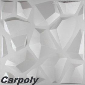 3d Elite Panels 5 m2, Panel 3D CARPOLY (50 x 50 cm)