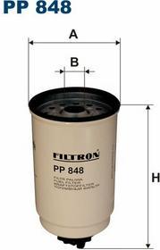 FILTRON PP 848 FILTR PALIWA