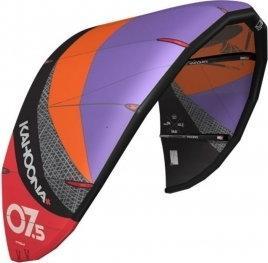 BEST latawiec kitesurfingowy kahoona plus v6 2014 fioletowy| pomaraŃczowy