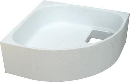 Schedpol Nośnik styropianowy półokrągły 90 x 90 cm R55, 2.064/O