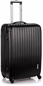 Gravitt Travel średnia walizka czarna 4 k SY-8016
