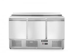 Hendi Stół chłodniczy sałatkowy 3-drzwiowy z pokrywą uchylną 232811