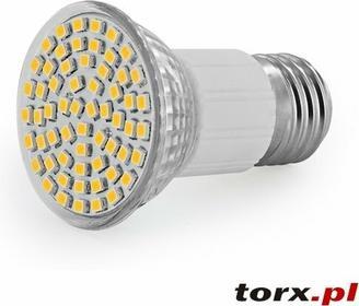 Whitenergy Żarówka LED Reflektor MR16 60xSMD 3528 3W E27 ciepła barwa 08267