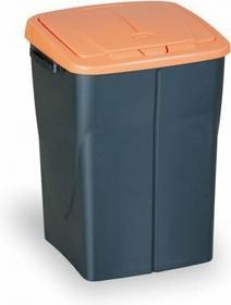 B2B Partner kosz na śmieci na odpadki (sz x gł x wys): 37 x 36,5 x 51,5 cm, 45l, pomarańcz