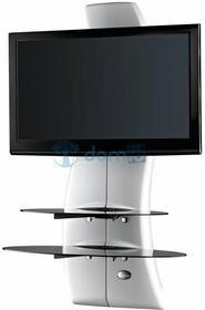 Meliconi Półka pod TV z maskownicą GHOST DESIGN 2000 biała 488066