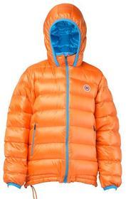 Kurtka puchowa dziecięca Pajak CASPER KID kolor pomarańczowy/niebieski 134 cm