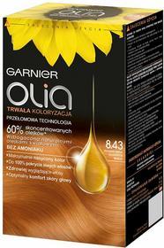 Garnier Olia 8.43 Intensywna złocista miedź