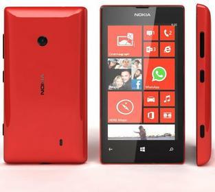 Nokia Lumia 520 Czerwony