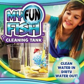 Samoczyszczące akwarium My Fun Fish