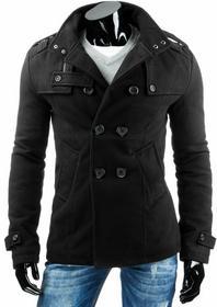 DStreet Płaszcz męski czarny (cx0311) - Czarny