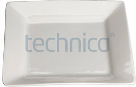 Stalgast Talerz płytki kwadratowy 200 mm | , Elegantia STALGAST-397018
