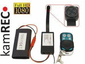 Kamrec Mini kamera w guziku - śrubce fullHD z czujnikiem ruchu T187