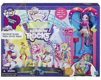 Hasbro My Little Pony Equestria Girls - Koncert rockowy, scena + Pinkie Pie A8060