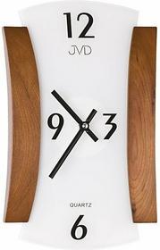 JVD ścienny szklano-drewniany nowoczesny N11067.11 ZEGAR-N11067.11