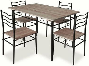 Signal Stół z krzesłami ESPRIT DĄB SONOMA