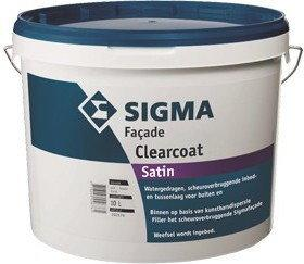 Sigma COATINGS FACADE CLEARCOAT akrylowy lakier Farba do betonu