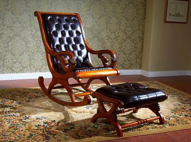 Bemondi Fotel bujany z podnóżkiem BRUNO SALETTI 37D 899-37D+899-38