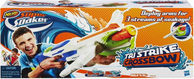 Hasbro NERF SUPER SOAKER - łuk Tri Strike Na Wodą A4836