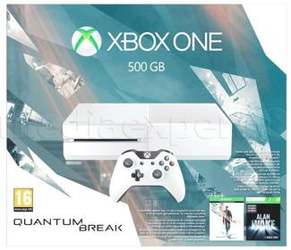 Microsoft Xbox One 500GB  Biała + Gra Quantum Break + 3M Live Gold