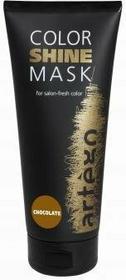 Artego COLOR SHINE MASK Maska odświeżająca kolor CZEKOLADA 200 ml