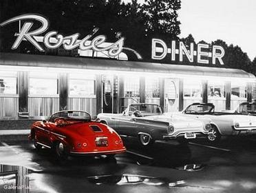 Rosies Diner - Obraz, reprodukcja