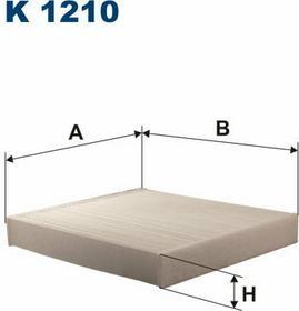 FILTRON K 1210 Filtr Kabinowy
