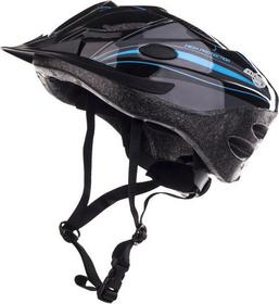AXER Kask rowerowy Cooper - Carbon/Blue