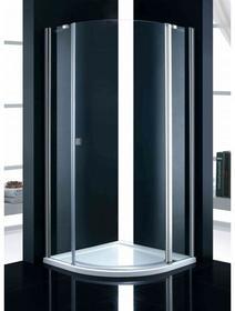 Swiac Humia 90x90 P prawa szkło transparentne