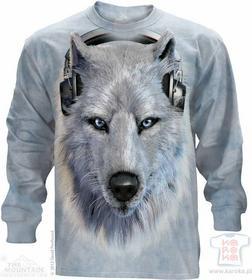 The Mountain White Wolf DJ - T-shirt z długim rękawem 453518